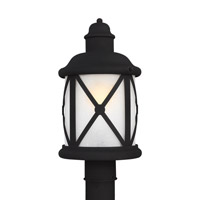 Lakeview 1 Light 16 inch Black Outdoor Post Lantern