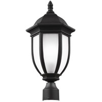 Sea Gull 8229301-12 Galvyn 1 Light 21 inch Black Post Lantern