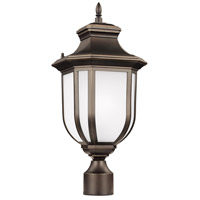 Sea Gull 8236301-71 Childress 1 Light 21 inch Antique Bronze Outdoor Post Lantern