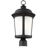 Sea Gull 8250701-12 Calder 1 Light 20 inch Black Post Lantern