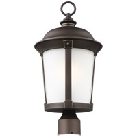 Sea Gull 8250701EN3-71 Calder 1 Light 20 inch Antique Bronze Post Lantern
