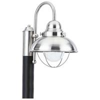Sea Gull 826993S-98 Sebring LED 16 inch Brushed Stainless Post Lantern
