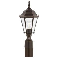 Sea Gull 82938-782 Bakersville 1 Light 18 inch Heirloom Bronze Outdoor Post Lantern