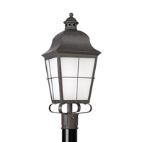 Chatham 1 Light 23 inch Oxidized Bronze Outdoor Post Lantern