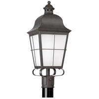 Chatham 1 Light 23 inch Oxidized Bronze Outdoor Post Lantern in No Photocell