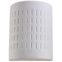Paintable Ceramic 1 Light 10 inch Unfinish Ceramic Outdoor Wall Lantern