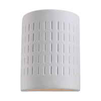Sea Gull 83046EN3-714 Paintable Ceramic 1 Light 10 inch Unfinished Ceramic Outdoor Wall Lantern