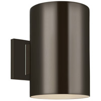 Sea Gull 8313901-10 Outdoor Bullets 1 Light 9 inch Bronze Outdoor Wall Lantern