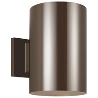 Sea Gull 8313997S-10 Cylinders LED 9 inch Bronze Outdoor Wall Lantern
