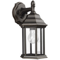 Sea Gull 8338701-71 Sevier 1 Light 13 inch Antique Bronze Outdoor Wall Lantern