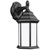Sea Gull 8338751EN3-12 Sevier 1 Light 13 inch Black Outdoor Wall Lantern