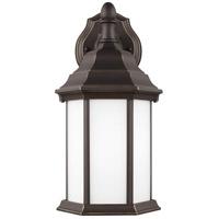 Sea Gull 8338751EN3-71 Sevier 1 Light 13 inch Antique Bronze Outdoor Wall Lantern