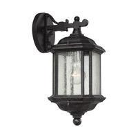 Sea Gull Lighting Kent 1 Light Outdoor Wall Lantern in Oxford Bronze 84030-746