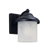 Sea Gull 84048EN3-185 Yorktown 1 Light 8 inch Forged Iron Outdoor Wall Lantern