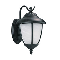 Sea Gull 84050EN3-185 Yorktown 1 Light 16 inch Forged Iron Outdoor Wall Lantern