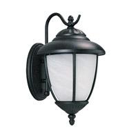 Sea Gull 84050EN3-185 Yorktown 1 Light 16 inch Forged Iron Outdoor Wall Lantern