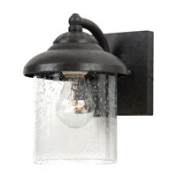 Sea Gull Lighting Lambert Hill 1 Light Outdoor Wall Lantern in Oxford Bronze 84068-746