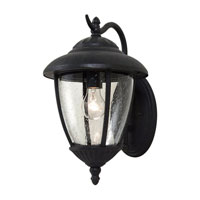 Sea Gull 84070-746 Lambert Hill 1 Light 16 inch Oxford Bronze Outdoor Wall Lantern photo thumbnail