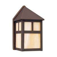 Prairie Statement 1 Light 9 inch Antique Bronze Outdoor Wall Lantern