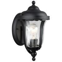 Sea Gull 8414201EN3-12 Perrywood 1 Light 12 inch Black Outdoor Wall Lantern