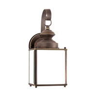 Jamestowne 1 Light 13 inch Antique Bronze Outdoor Wall Lantern