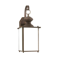 Jamestowne 1 Light 17 inch Antique Bronze Outdoor Wall Lantern