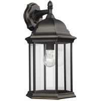 Sea Gull 8438701-71 Sevier 1 Light 19 inch Antique Bronze Outdoor Wall Lantern