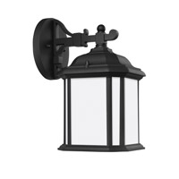 Sea Gull 84529EN3-12 Kent 1 Light 12 inch Black Outdoor Wall Lantern