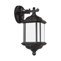Kent 1 Light 15 inch Oxford Bronze Outdoor Wall Lantern in Fluorescent