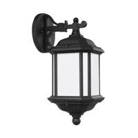 Sea Gull 84530EN3-12 Kent 1 Light 15 inch Black Outdoor Wall Lantern