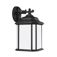 Sea Gull 84531EN3-12 Kent 1 Light 15 inch Black Outdoor Wall Lantern
