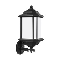 Kent 1 Light 19 inch Black Outdoor Wall Lantern in Fluorescent
