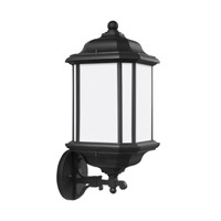 Sea Gull 84532EN3-12 Kent 1 Light 19 inch Black Outdoor Wall Lantern