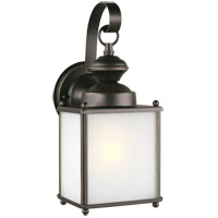 Sea Gull 84570EN3-71 Jamestowne 1 Light 13 inch Antique Bronze Outdoor Wall Lantern