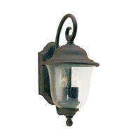 Trafalgar 2 Light 15 inch Oxidized Bronze Outdoor Wall Lantern