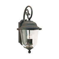 Sea Gull 8461EN-46 Trafalgar 3 Light 24 inch Oxidized Bronze Outdoor Wall Lantern