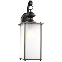 Sea Gull 84670-71 Jamestowne 1 Light 20 inch Antique Bronze Outdoor Wall Lantern