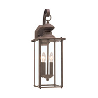 Jamestowne 2 Light 20 inch Antique Bronze Outdoor Wall Lantern