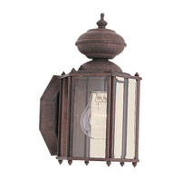 Sea Gull Lighting Classico 1 Light Outdoor Wall Lantern in Sienna 8507-26