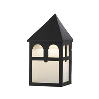 Signature LED 10 inch Black Outdoor Wall Lantern