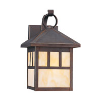Sea Gull 8508EN3-71 Prairie Statement 1 Light 12 inch Antique Bronze Outdoor Wall Lantern