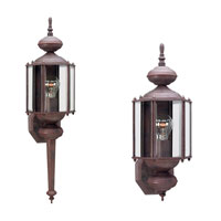 Sea Gull 8510-26 Classico 1 Light 26 inch Sienna Outdoor Wall Lantern photo thumbnail