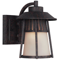 Sea Gull Hamilton Heights 1 Light Outdoor Wall Sconce in Oxford Bronze 8511701-746