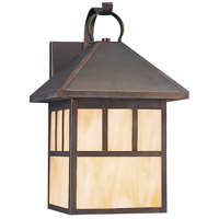Prairie Statement 1 Light 17 inch Antique Bronze Outdoor Wall Lantern