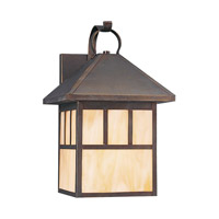 Sea Gull 8513EN3-71 Prairie Statement 1 Light 17 inch Antique Bronze Outdoor Wall Lantern