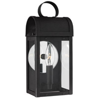 Conroe 1 Light 12 inch Black Outdoor Wall Lantern