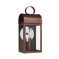 Conroe 1 Light 12 inch Silver Outdoor Wall Lantern