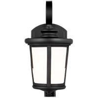 Sea Gull 8519301-12 Eddington 1 Light 12 inch Black Outdoor Wall Lantern
