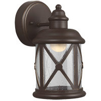 Lakeview 10 inch Antique Bronze Outdoor Wall Sconce