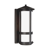 Groveton LED 16 inch Antique Bronze Outdoor Wall Lantern in Darksky Compliant